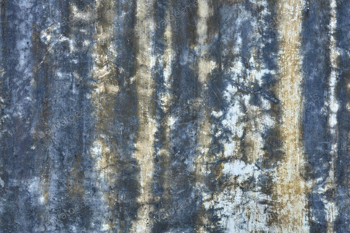 Old grunge stained wall background or texture
