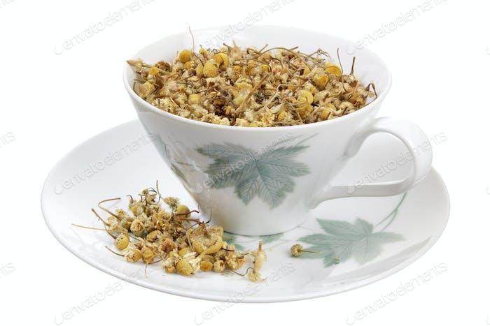 Cup and Chamomile Tea