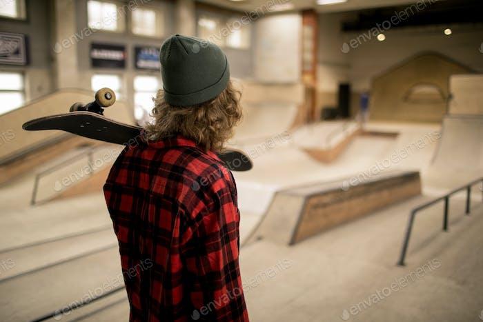 Skater in Extreme Park