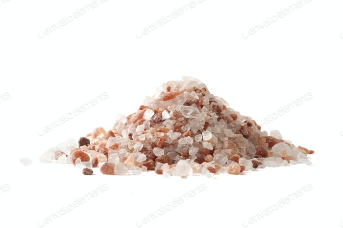 Salt Pile on White
