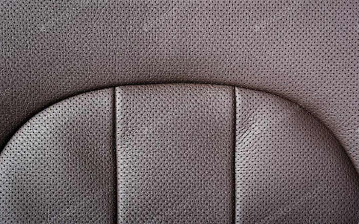 Peart of the leather texture