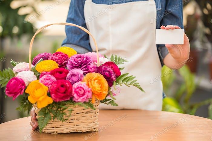 Blumenhändler