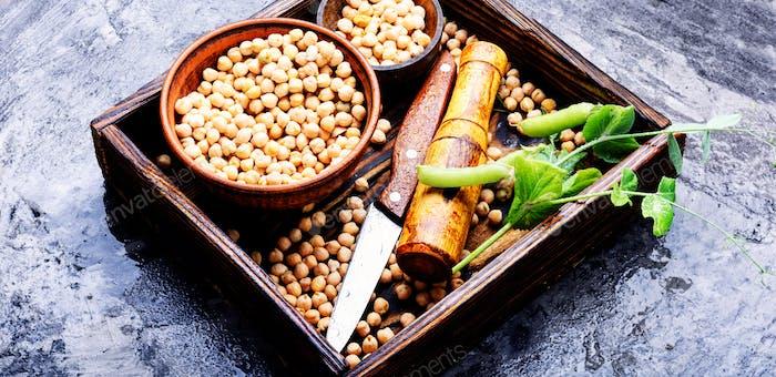Kichererbsen, die Grundlage der vegetarischen Küche