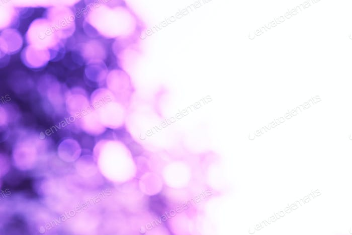 Abstract blurred natural background, purple tone.