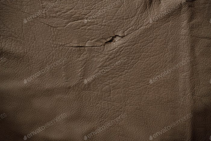 surface of old leather