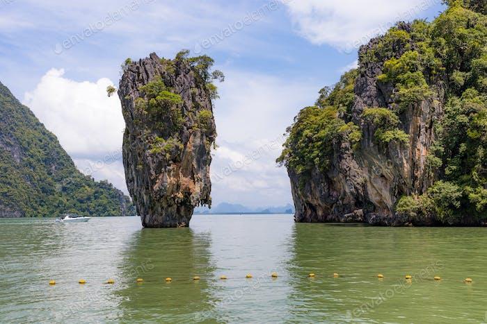 Khao Phang Kan en tailandia, phuket