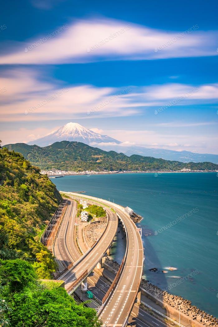Satta Pass, Shizuoka, Japan