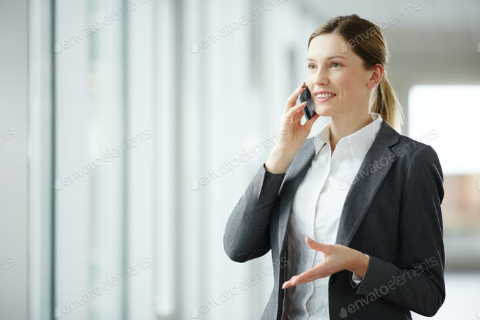 Making appointment by phone