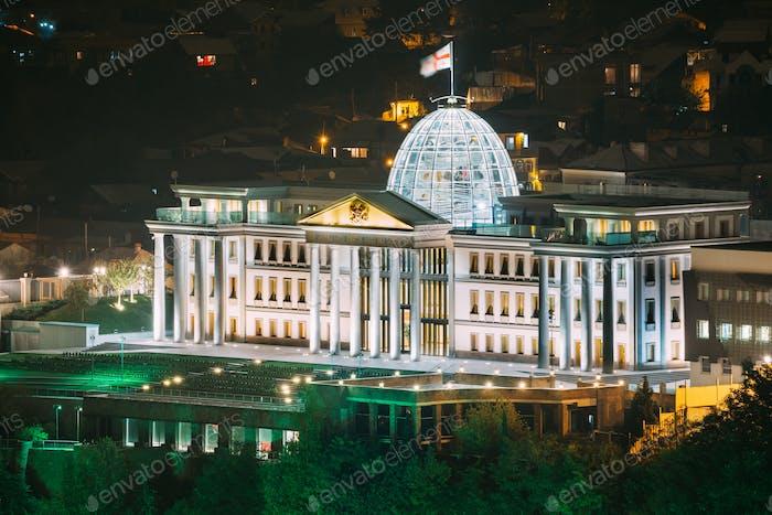 Tbilisi, Georgia. Presidential Administration Palace, Avlabari R
