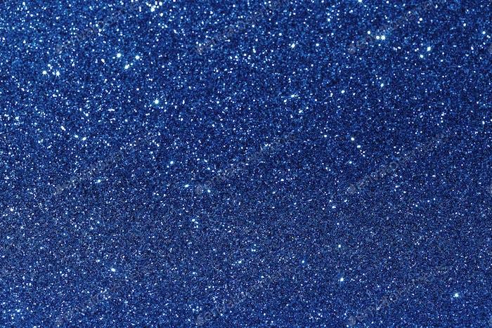 Classic blue glitter texture