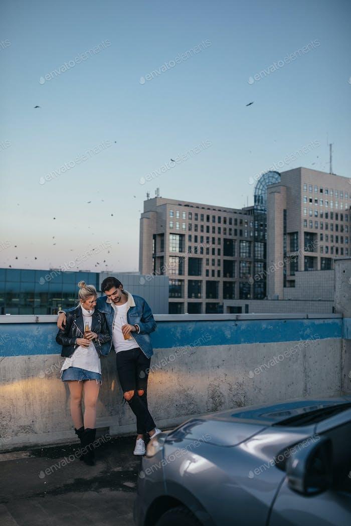 Rooftop date