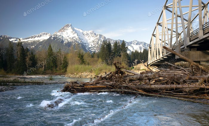 Whitehorse Mountain North Cascades Darrington WA Sauk River