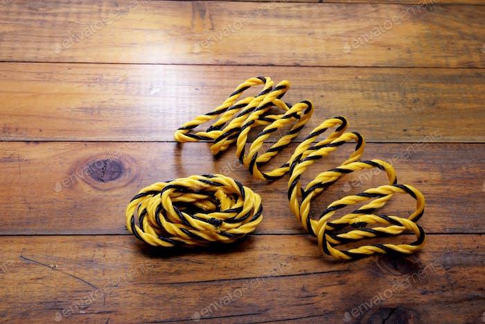 Yellow Nylon Ropes