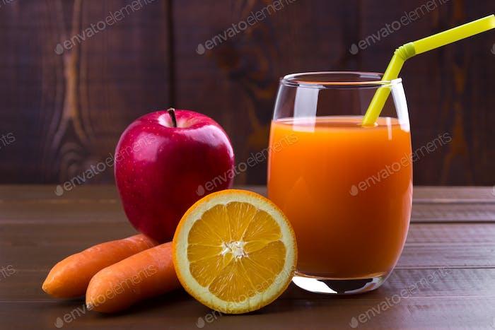 Karotte Orangenäpfelsaft