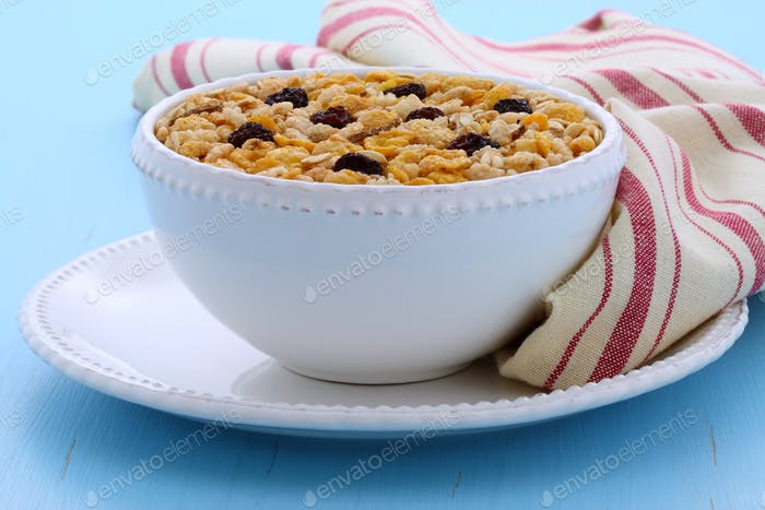 Thumbnail for Delicious organic muesli cereal