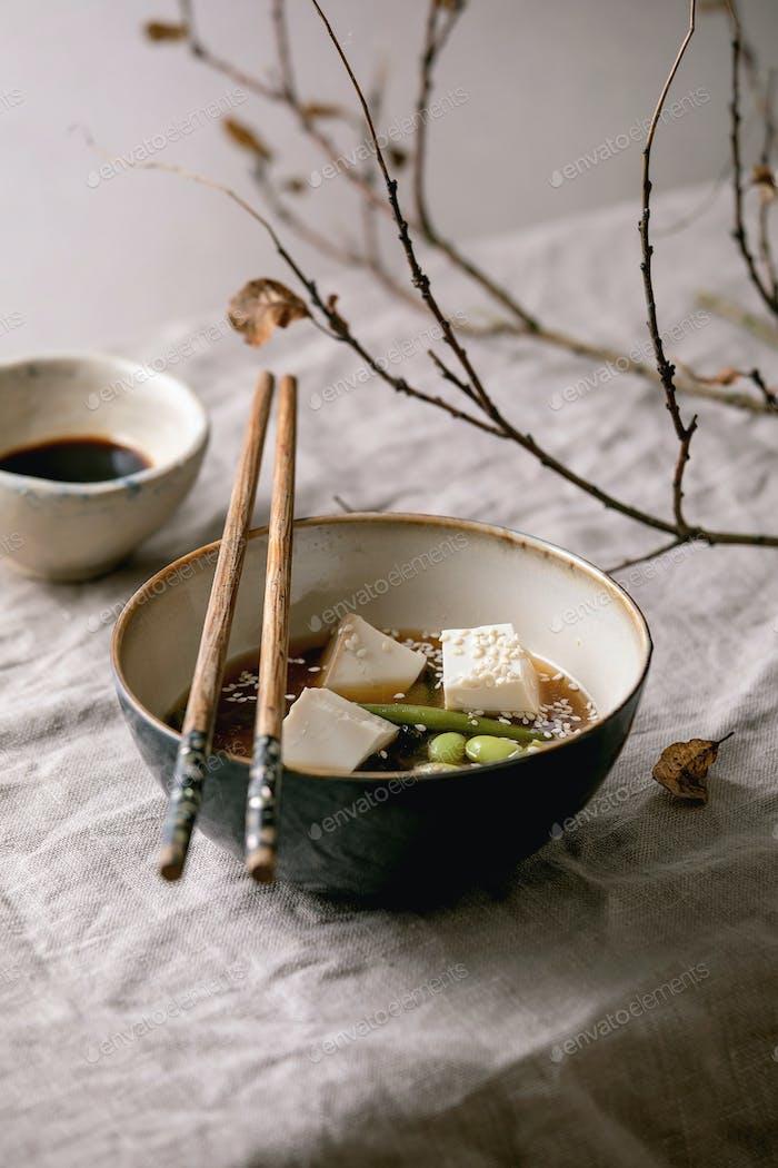 Tofu Miso Suppe