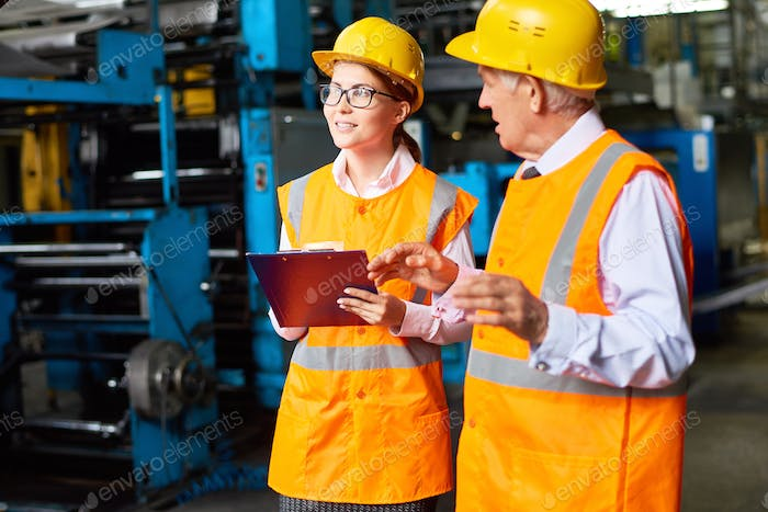Safety Inspection at Modern Plant