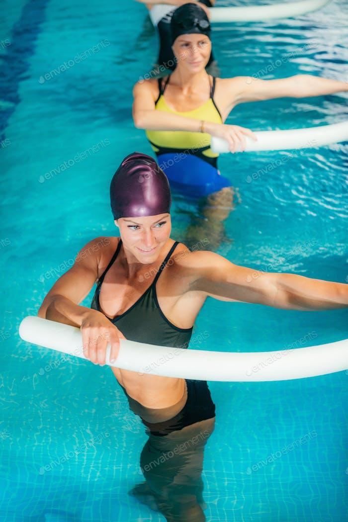 Aqua Fitness in Water Sport Centre.