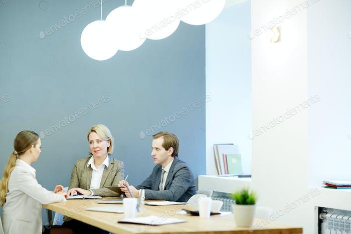 Встреча коллег