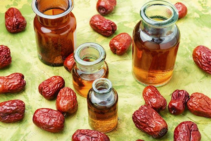 Getrocknete Unabi-Früchte oder Jujube