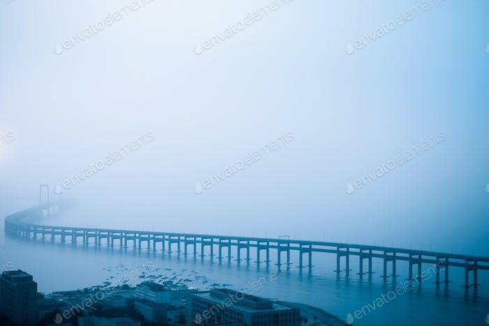 dalian cross sea bridge