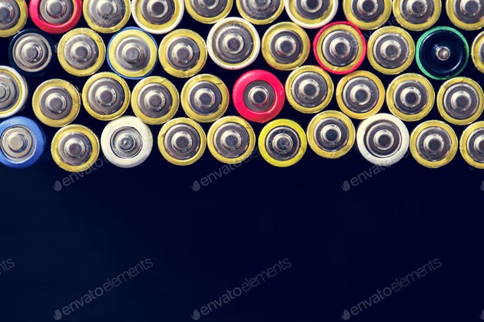 Alkaline battery energy supply storage
