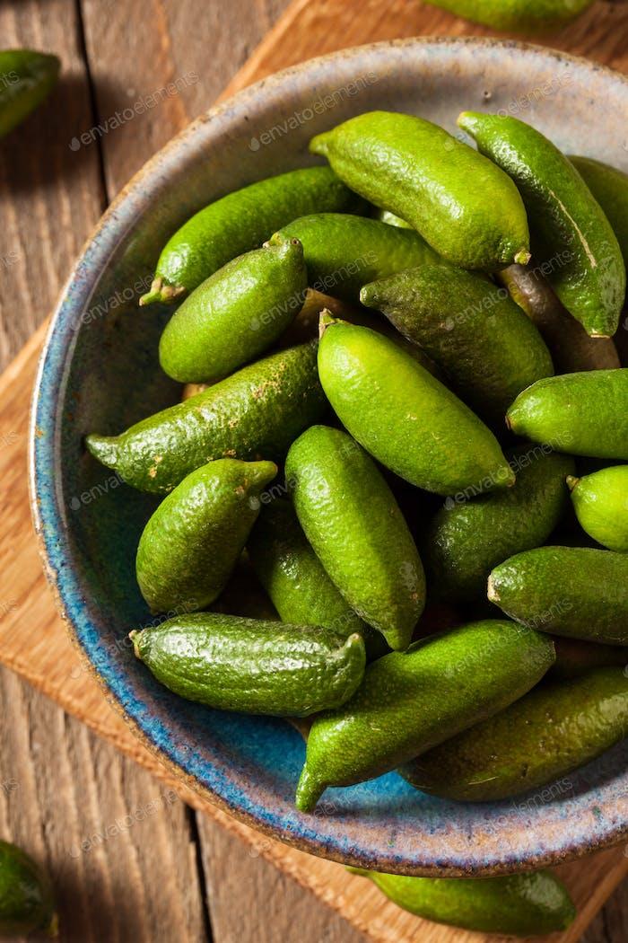 Raw Bio Grüne Finger Limetten