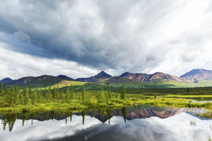 Lago de Alaska