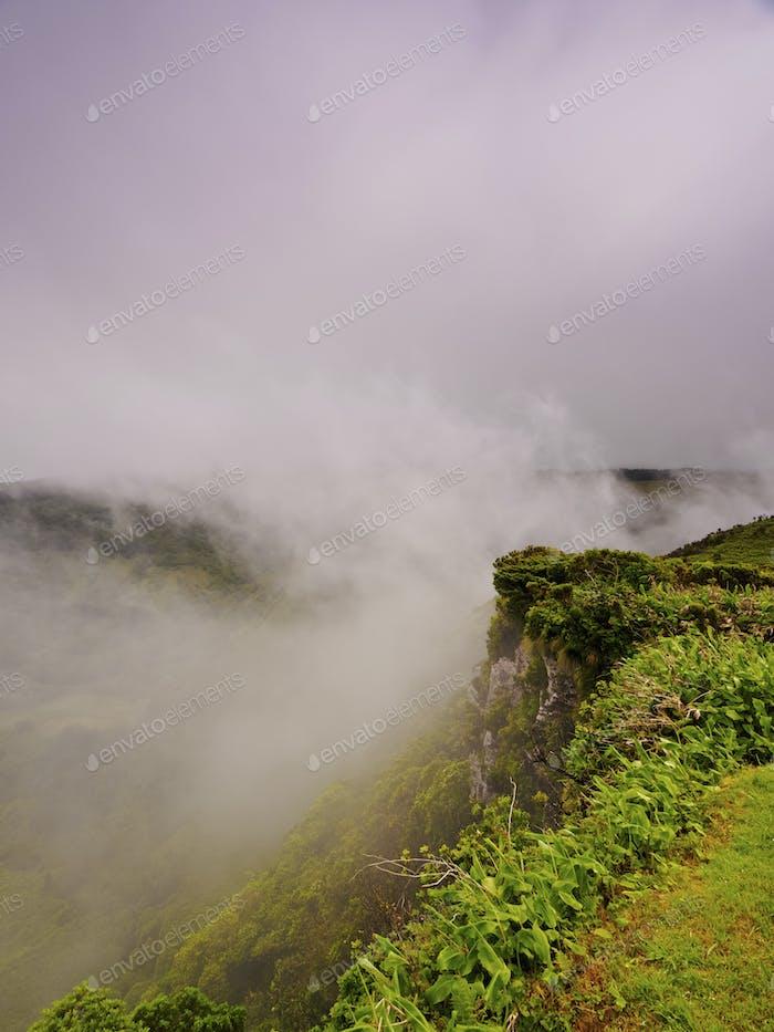Landscape of Flores Island