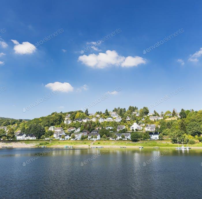 Rurberg at Lake Rursee, Germany