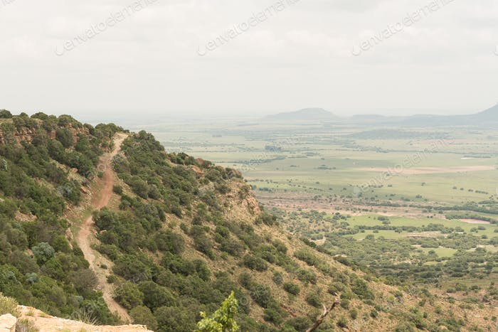4x4 road on the Koranna Mountain near Excelsior