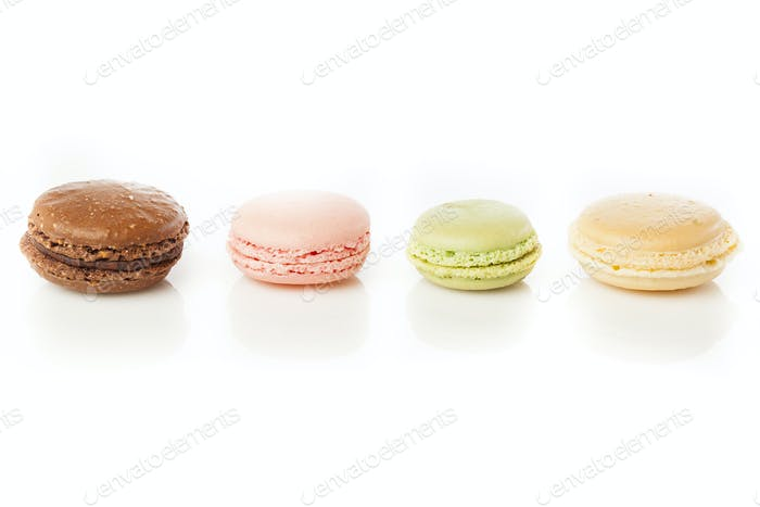Gourmet Colored Macaroon Cookies