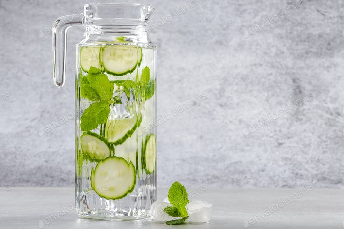 Resfreshing and healthy summer drink