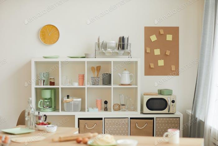 Small domestic kitchen
