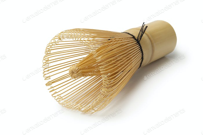 Japanese bamboo tea whisk