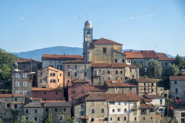 Mulazzo, old village in Lunigiana