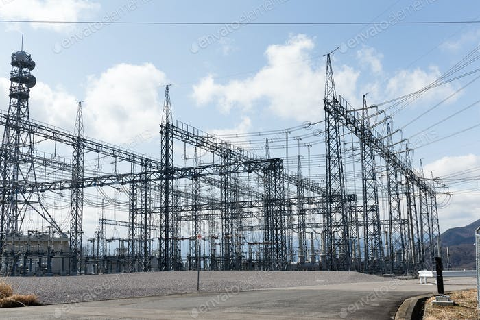 High voltage electrical towers