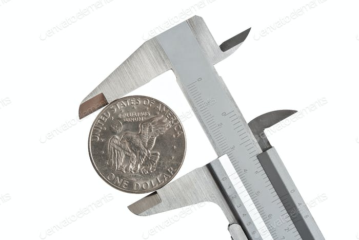 caliper with dollar
