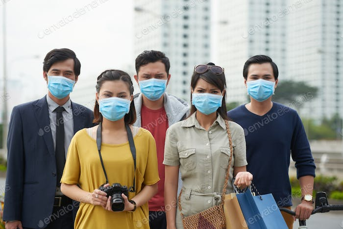 Suffering from air pollution