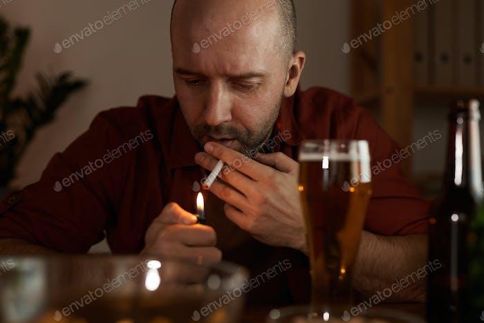 Man has bad habits