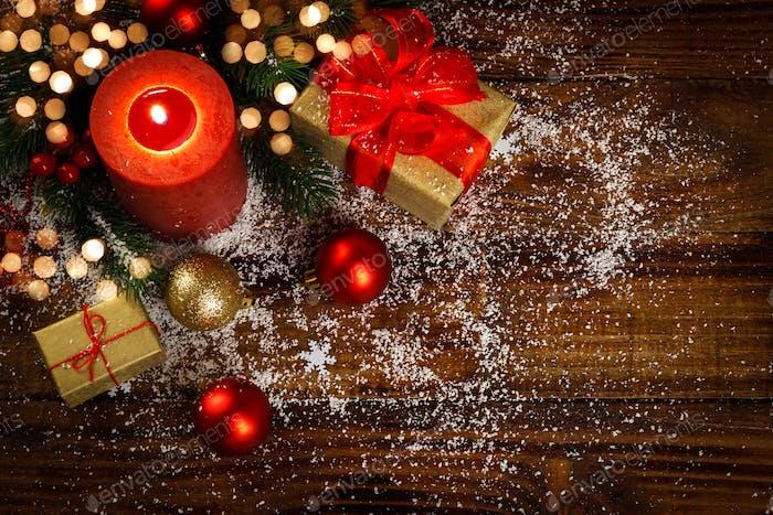 Weihnachtsdekoration Konzept