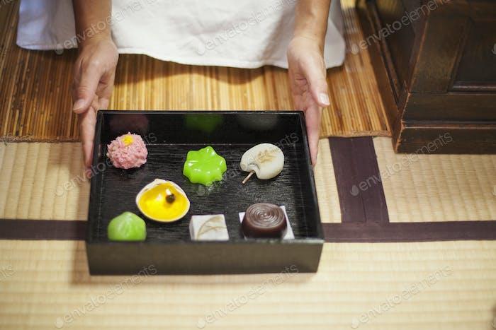 Wagashi gift box