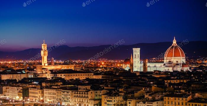 Tuscany Florence Panorama