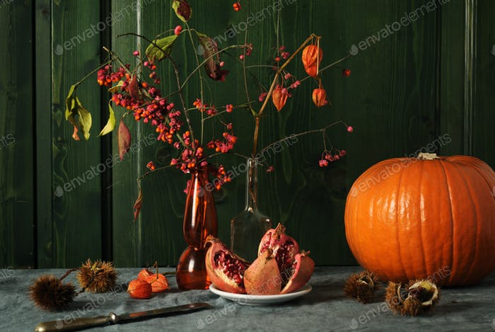 autumnal still life