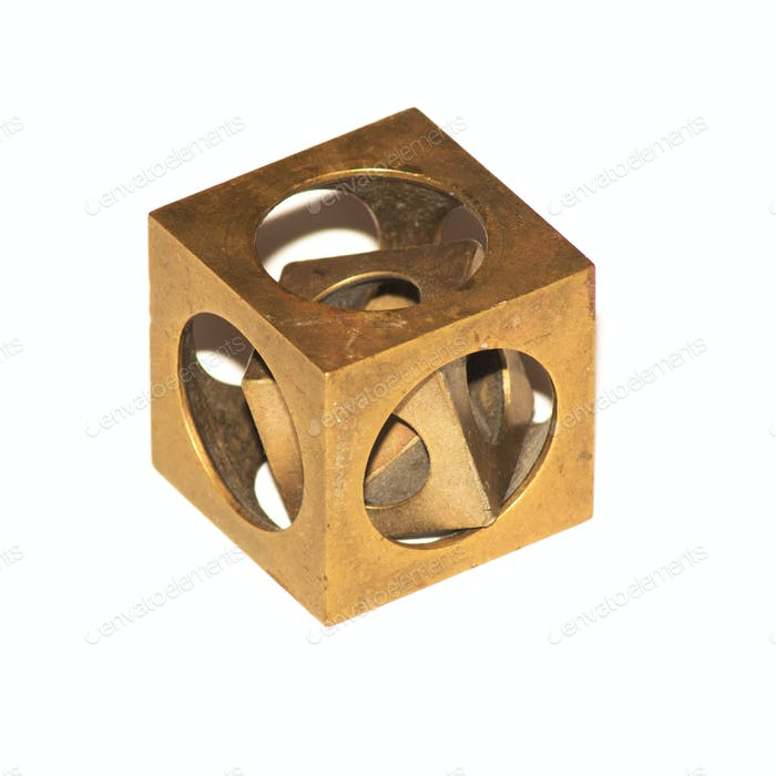 Riddle cube in a cube