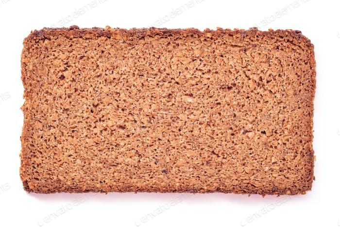wholegrain bread slice