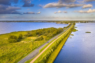 Aerial view of Causeway