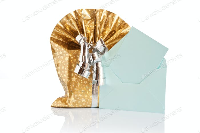 gift box with letter