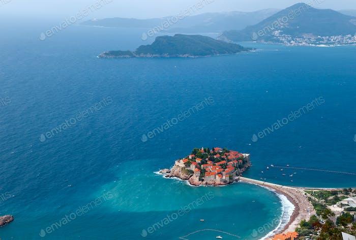 St. Stephan island in Montenegro