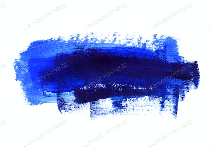 Blue and dark blue hand drawn texture on white background